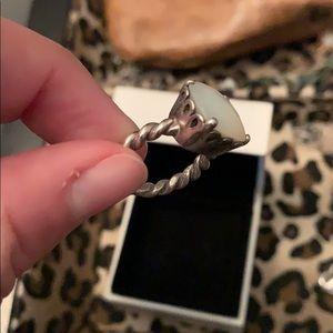 Pandora Jewelry - Pandora white pearl ring!